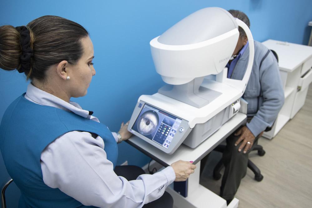 Plataforma Multidiagnóstica Ocular